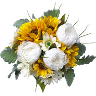 Butter Yellow Wedding Bouquets