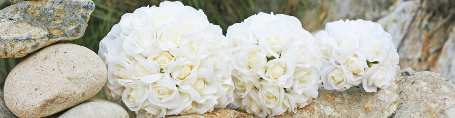 Silk Wedding Bouquets Affordable Wedding Decor Silk Flower