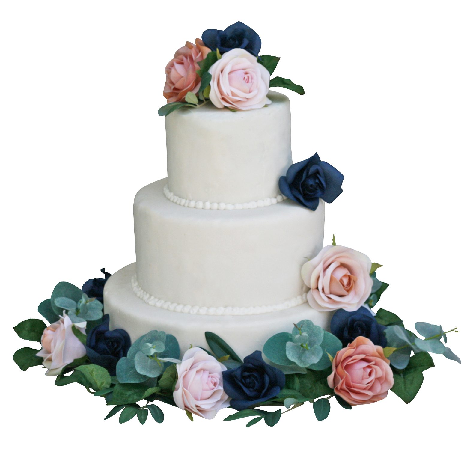 navy-champagne-cake-flower-topper-decoration.jpg