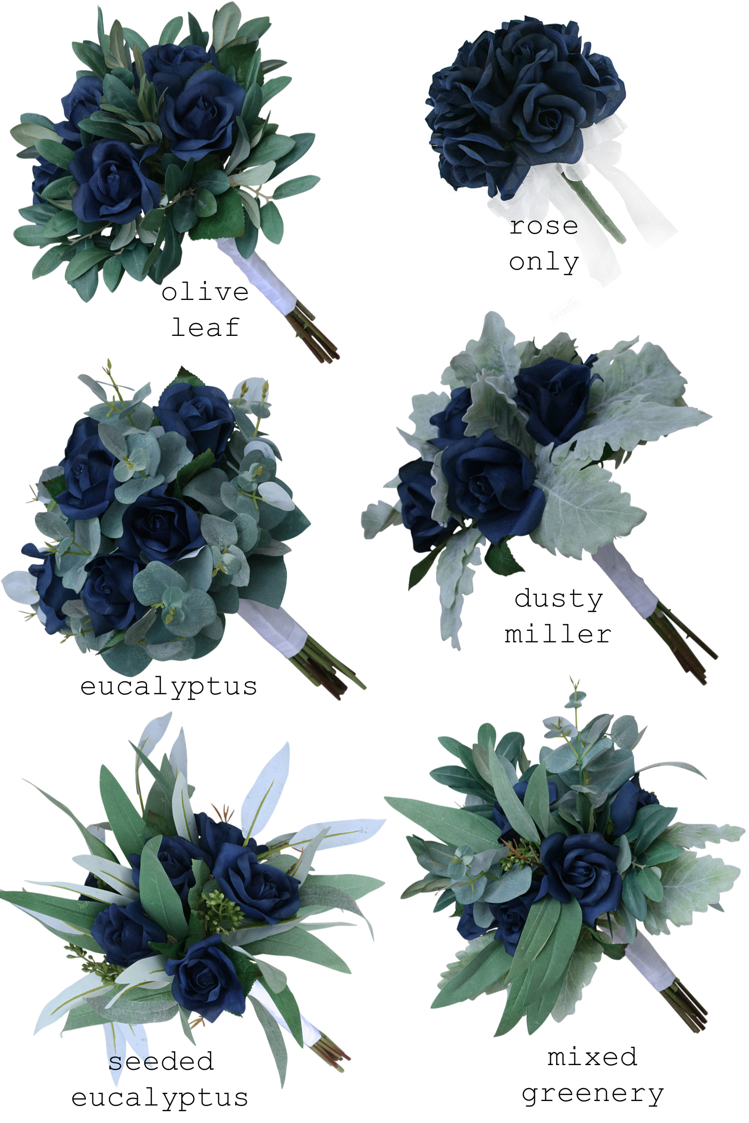 navy-garden-rose-greenery-artificial-wedding-bouquet3.jpg