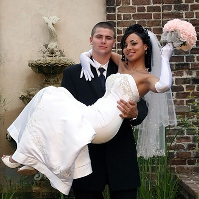 Pink Silk Rose Hand Tie (3 Dozen Roses) - Bridal Wedding Bouquet