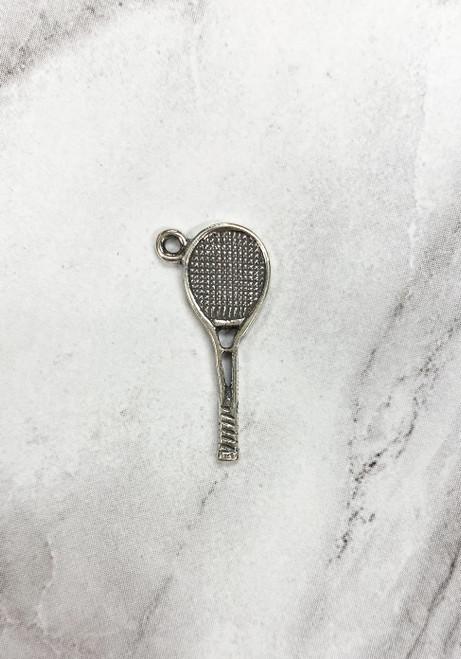 "Tennis ""Racquet"" Charm"