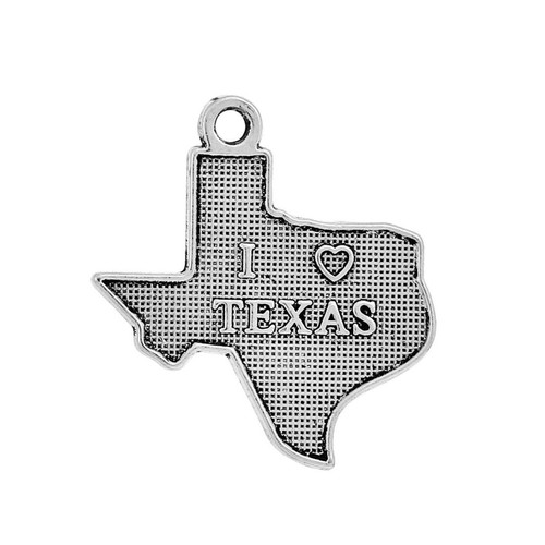 "Texas ""I Love"" Charm"