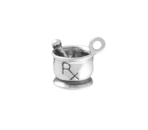 "Healthcare ""RX"" Charm"