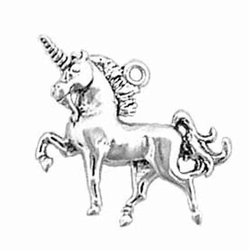 "Unicorn ""3-D"" Charm"