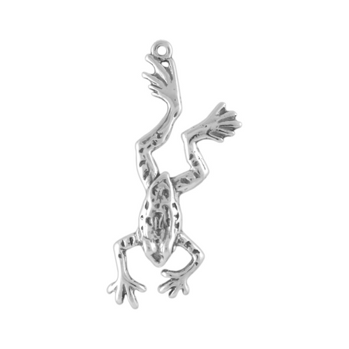 """""""Leaping"""" Frog Charm"""