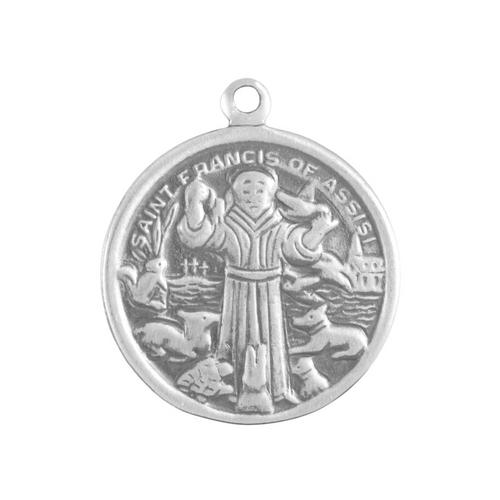 """St. Francis"" Charm"