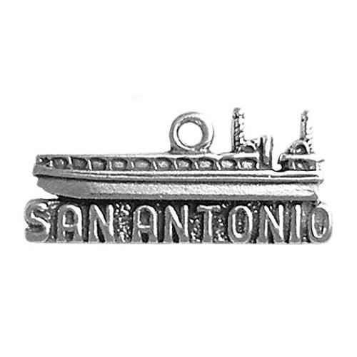 "San Antonio ""Riverboat"" Charm"