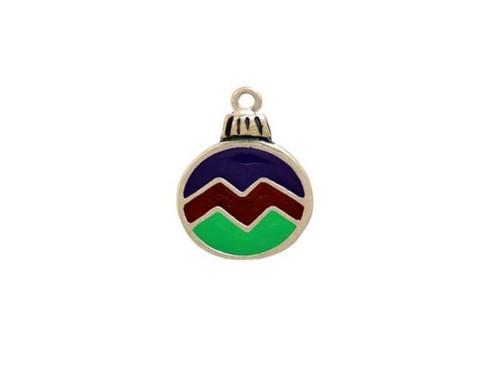 """Christmas Ornament """"Enamel"""" Charm"""