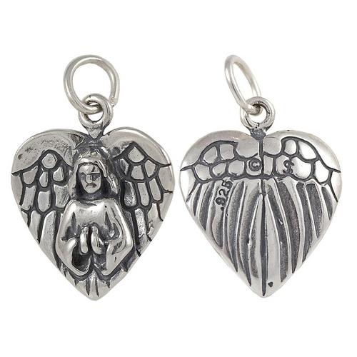 """Angel """"Heart Shape"""" Charm"""