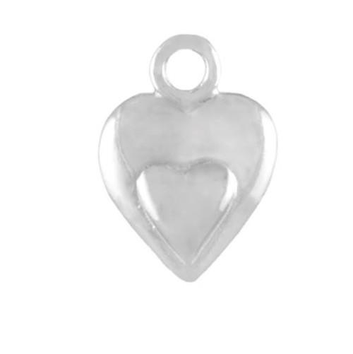 """""""Tiny Heart on Heart"""" Charm"""