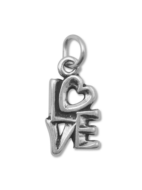 """Love """"Stacked"""" Charm"""