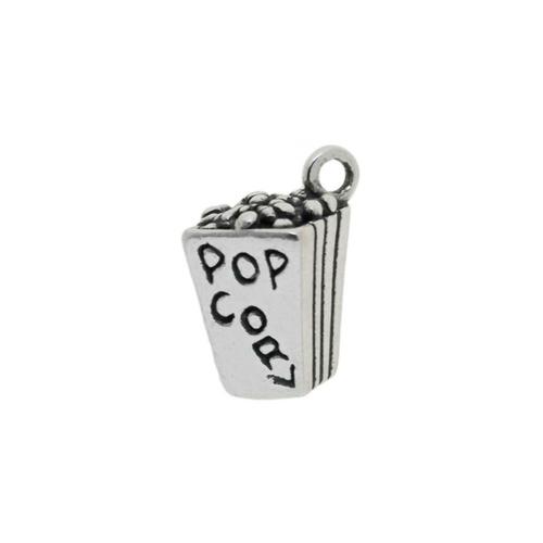"Popcorn ""Box"" Charm"