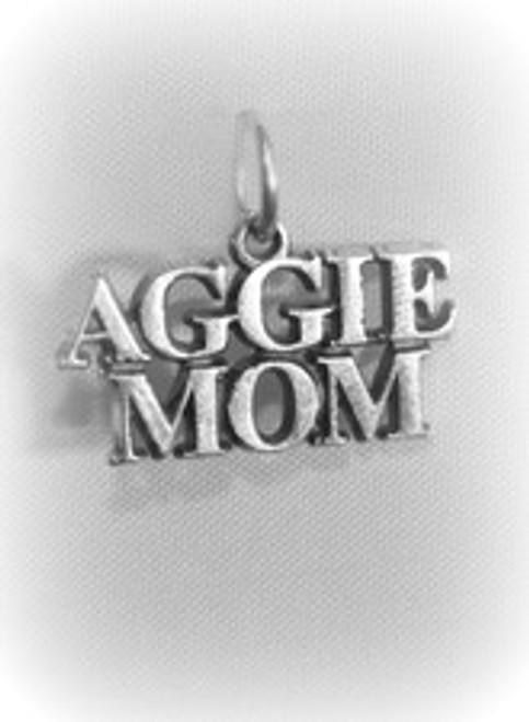 "A & M ""Aggie Mom"" Charm"