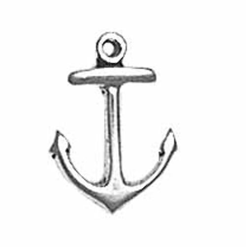 "Navy ""Anchor"" Charm"