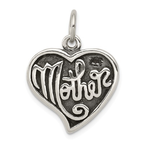 """Mother """"Heart"""" Charm"""