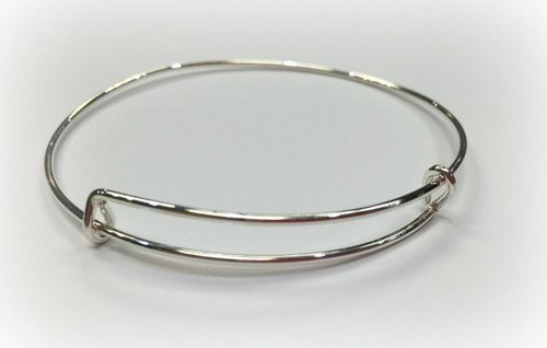 Sterling Silver Memory Bangle