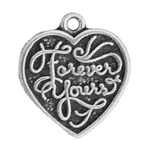 """""""Forever Yours/Forever Mine"""" Double Sided Charm"""