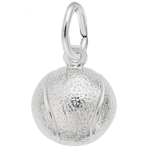 "Tennis Ball ""Rembrandt"" Charm"