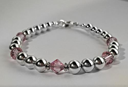 Birthstone Beaded Bracelet
