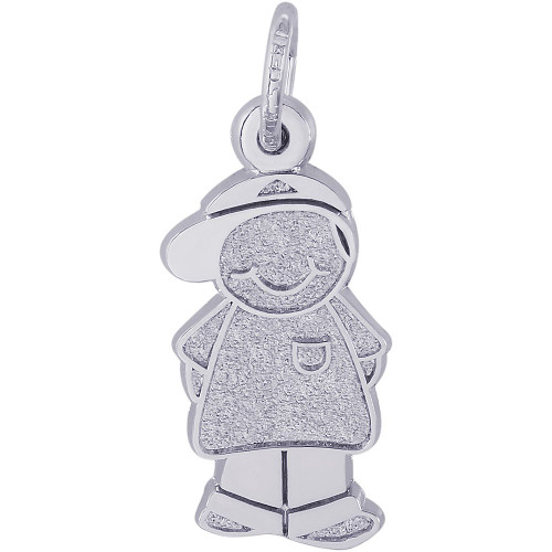 "Boy With Cap ""Rembrandt"" Charm"