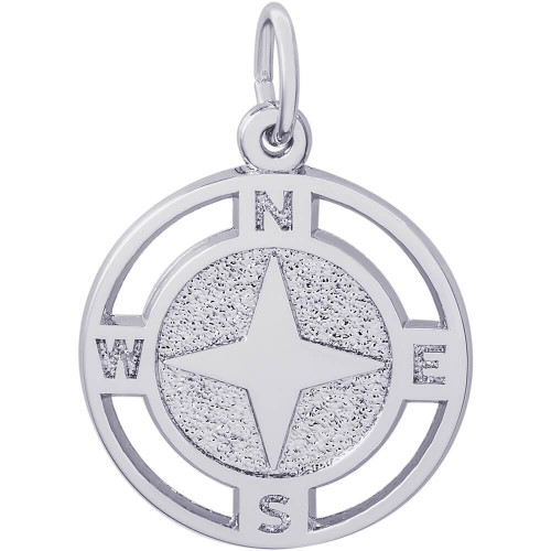 "Nautical Compass ""Rembrandt"" Charm"