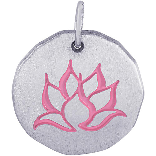 "Lotus Flower ""Rembrandt"" Charm"