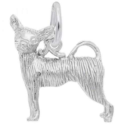 "Chihuahua Dog ""Rembrandt"" Charm"