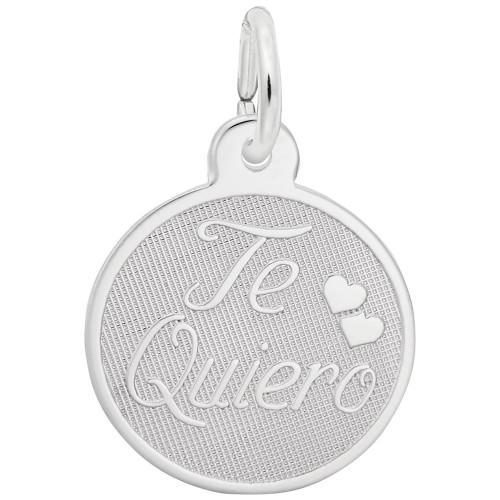 "Te Quiero ""Rembrandt"" Charm"
