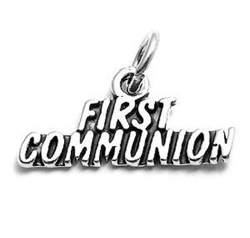 """First Communion - Written"" Charm"
