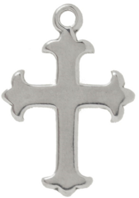 """Cross with 3 Points"" Charm"