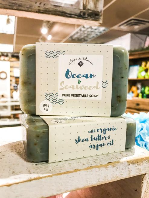 Ocean & Seaweed Pure Vegetable Soap