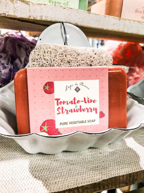 Tomato-Vine Strawberry Pure Vegetable Soap