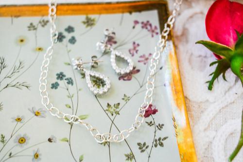 "Small Tiffany Chain Necklace 16"""