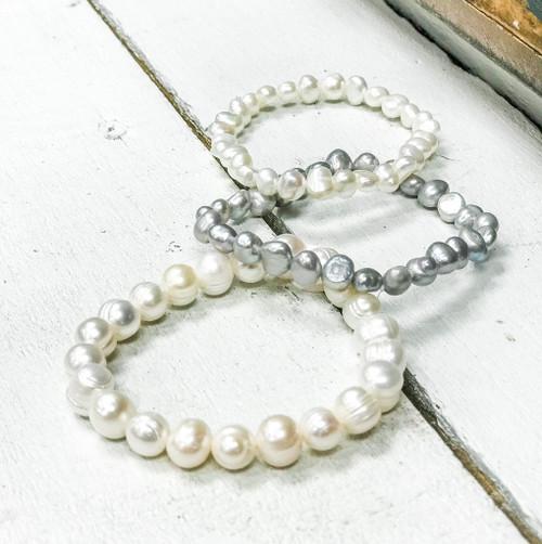 Freshwater Large Pearl Bracelet