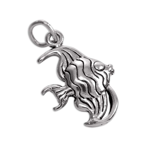 3D Angel Fish Charm