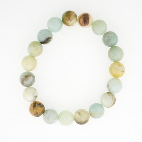 Amazonite Semi Precious Stone Bracelet