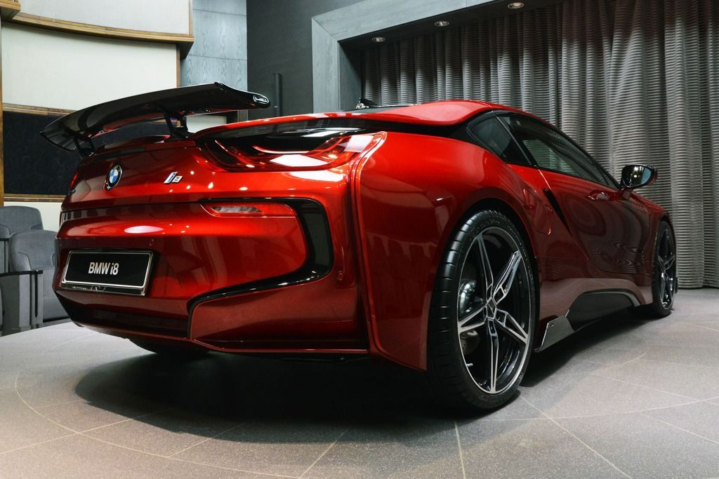 Bmw I8 Carbon Fiber Rear Spoiler Ac Schnitzer Meduza Design Ltd