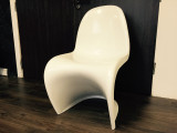 Verner Panton S Style Chair - White