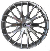 "Brexten BX-20 20"" Alloy Wheels High Power Silver"