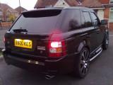 Range Rover Sport Mid Tailgate Spoiler