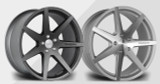 "20"" Riviera RV177 Alloy Wheels Gunmetal or Polished Face"