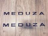 MEDUZA Bonnet & Tailgate Lettering Black Chrome Accent