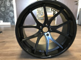 Ferrada FR2 Alloy Wheels Matt Black Gloss Black Lip Range Rover Sport