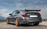 BMW M4 GTS Carbon Fiber Boot Spoiler
