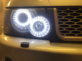 Range Rover Sport 2005-2009 Staggered LED Headlight Upgrade