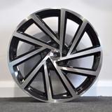 "18"" Alloy Wheels Golf R Style VW Audi Seat"