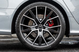 """22"""" Alloy Wheels Audi RS6 Style Black Polished Face"""