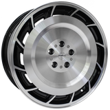 "20"" Calibre Turbine Alloy Wheels Black Polished"