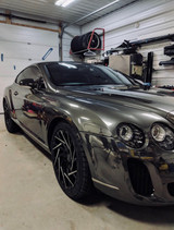 Bentley Continental GT 2004-2009 Headlight Upgrade to 2013